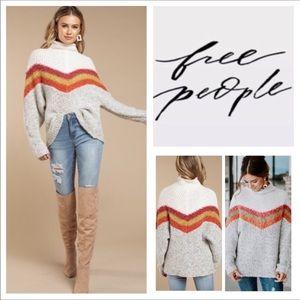 🆕Free People Turn Around Tunic Sweater.  NWOT.